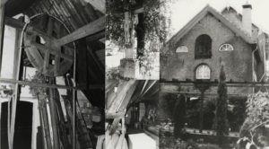 Oude foto's leerlooierij kruisbeeld kerkstraat schoenen Vermeulen Dongen